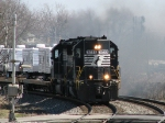 NS 042 FEMA TRAIN Routed Elkhart to Bellview Back To Fort Wayne