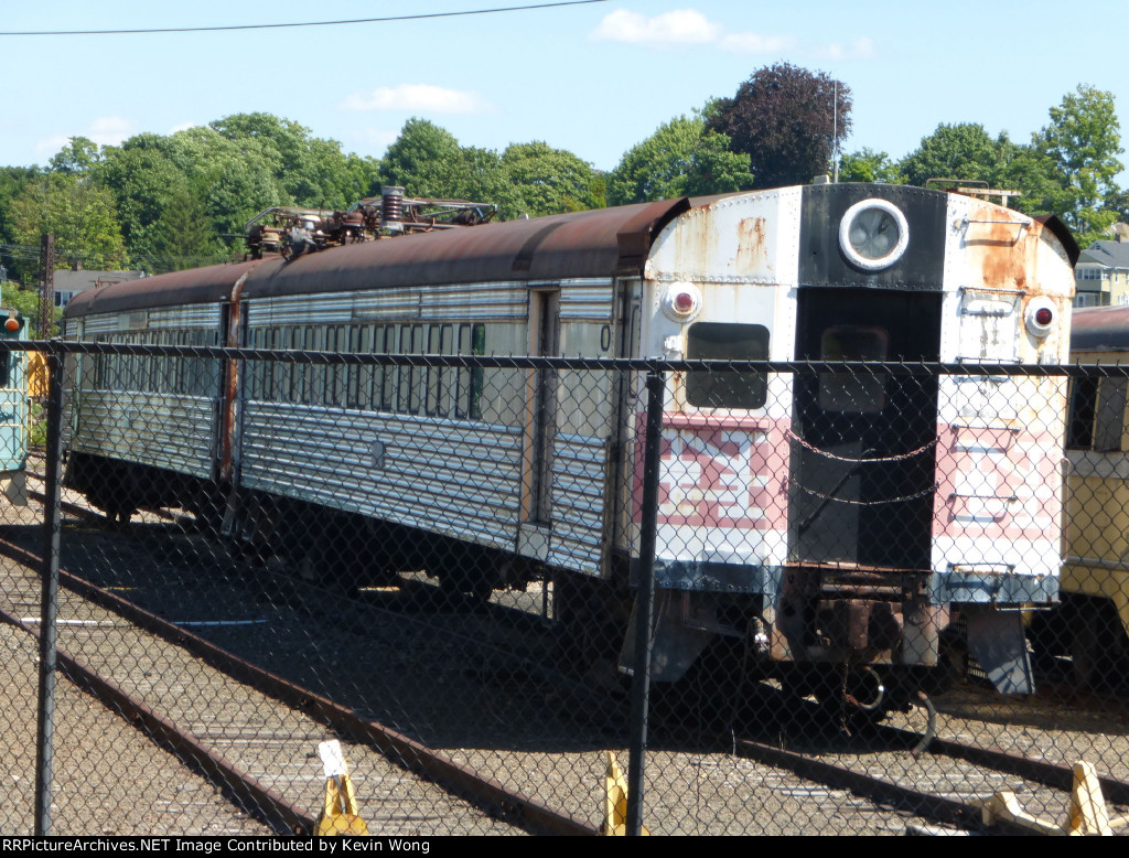 New Haven Railroad Combine-Work Motors MUs 4671 & 4673 (Pullman/Westinghouse 1954)