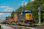CSXT K138 Westbound @ Oxford Valley, PA