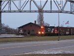 L504 with Port Huron GTW depot