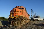 BNSF 8123 Wrecked