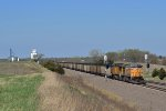 UP 6507 eastbound UP loaded coal train