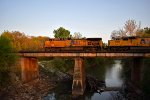 UP 5980 eastbound UP empty grain train