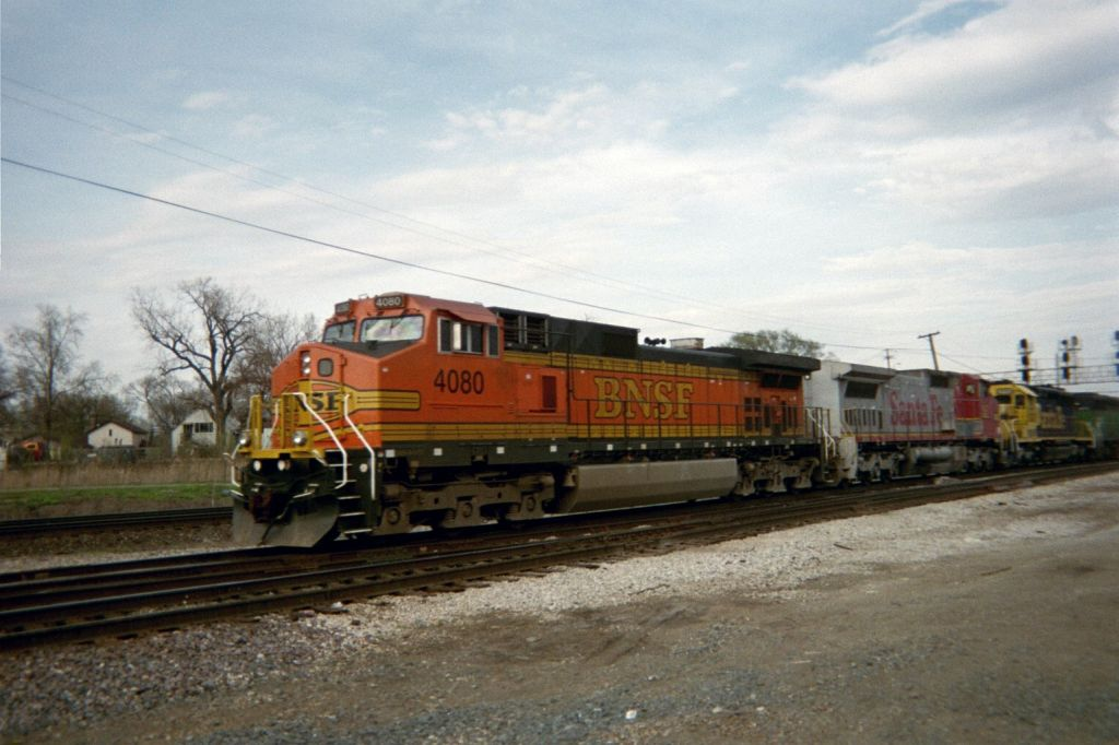 Just about every BNSF paint scheme