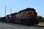 EB BNSF rock train