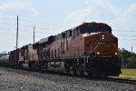 EB BNSF oil train