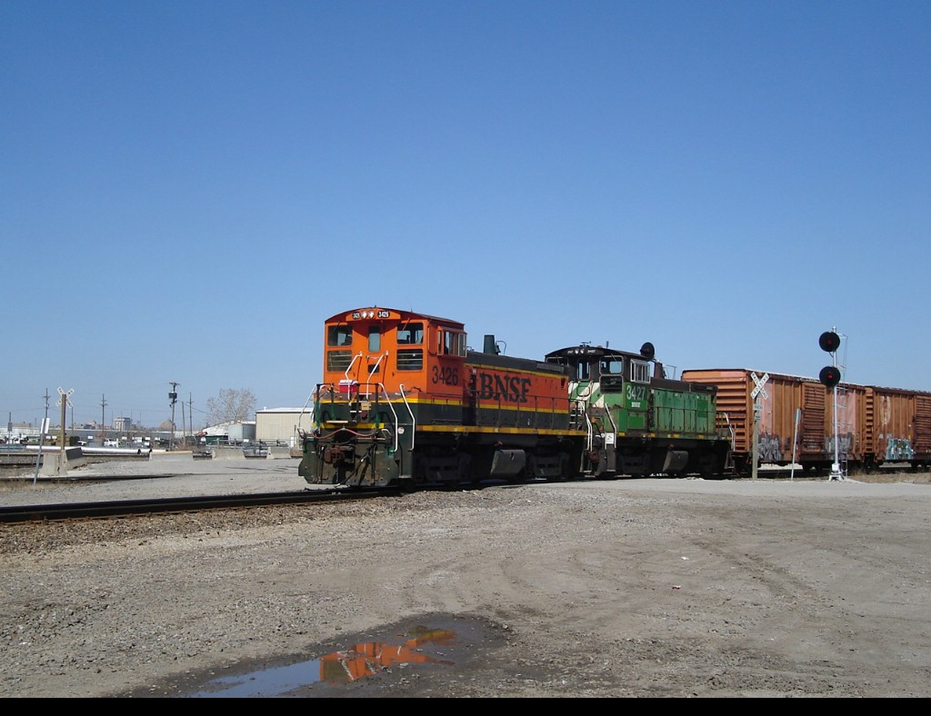 BNSF 3426, 3427