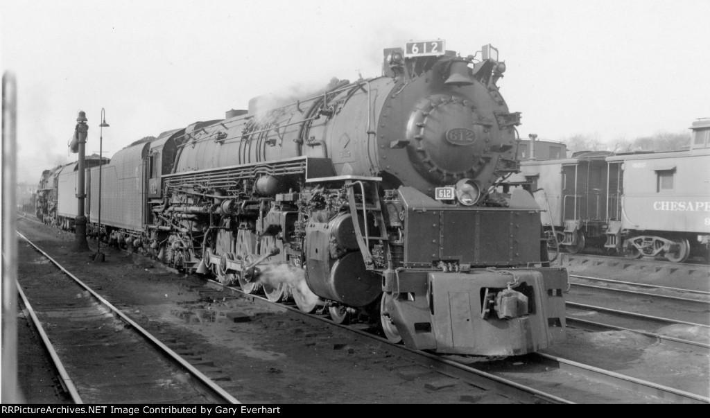 C&O 4-8-4 #612 - Chesapeake & Ohio RR