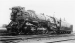 C&O 2-8-2 #1222 - Chesapeake & Ohio RR