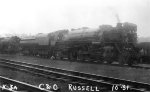 C&O 2-8-2 #2328 - Chesapeake & Ohio RR