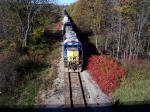 CSX transfer moves on the CN st. clair spur line for interchange with CN.