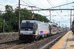 NJT 4618 on Train 7855