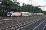 NJT 4652 on Train 7256