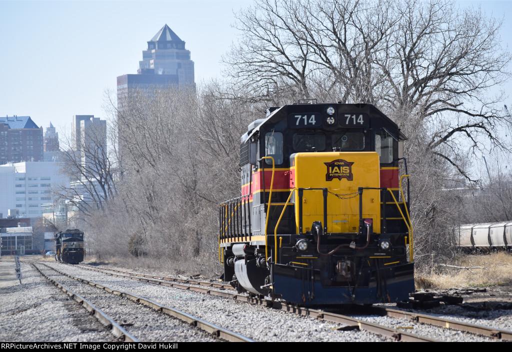 IAIS Engine 714, Des Moines IA