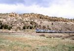 Amtrak Through Shoemaker Canyon