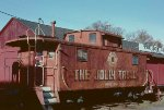 Repurposed caboose
