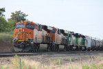 BNSF 7060, 8222 1962, and 1980
