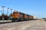 BNSF Stack Train in Modesto