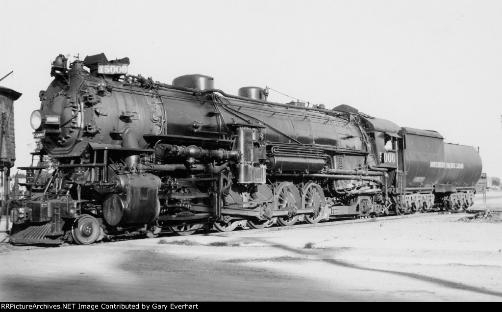 SP 4-10-2 #5000 - Southern Pacific