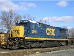 CSXT 5969 In The Yard At New River