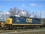 CSXT 5969 At New River Yard