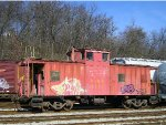 CIND Cab 1111 In The Yard At Norwood Ohio