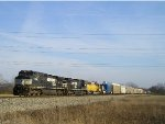 NS 9454 On NS 196 Westbound