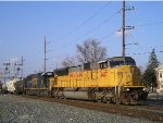 UP 3487 On CSX Q 507 Southbound