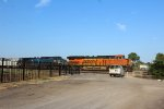 BNSF 7073 and CEFX 1049