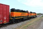 BNSF 2639 and 2303