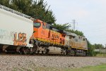 BNSF 4715 and CREX 1420