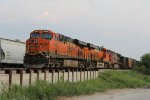 BNSF 6609, 6862, and 4707