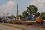 CSXT 3076 On CSX K 587 Southbound