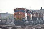 BNSF 3936 First Trip West