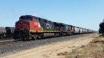 CN Grain train on UP Fresno Sub
