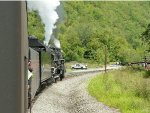 The PA state park ranger watches 765 depart M&H Junction at 10:41 a.m.