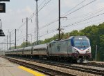 Amtrak Train 95 passes Perryville at 1:00 p.m.