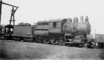 BO 2-8-0C #1821 - Baltimore & Ohio