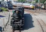 Lots of Action at Steamtown