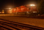 Dual Canadian Pacific SD60s Lead 258
