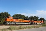 BNSF 8414 and 9316