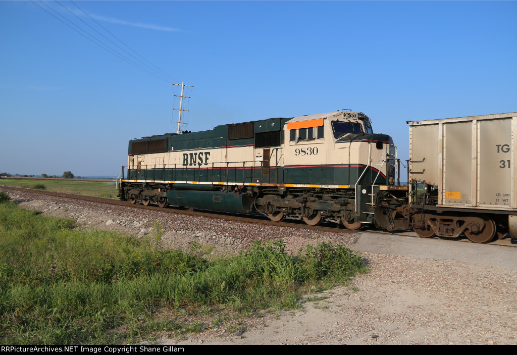 BNSF 9830 Roster.