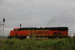 BNSF 7238 Leaves the siding in Elsberry Mo.