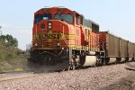 BNSF 9989 Dpu on a loaded coal drag.
