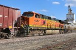 BNSF 4467 Has a H3 Nose on it.