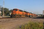 BNSF 6877 Leads a H-GALTUL into Old Monroe Mo..