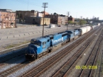 ex Conrail power on NS southbound