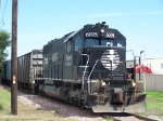 IC 6005: Owned and Operated by Canadian National Awaits Clearance to Enter the Yard