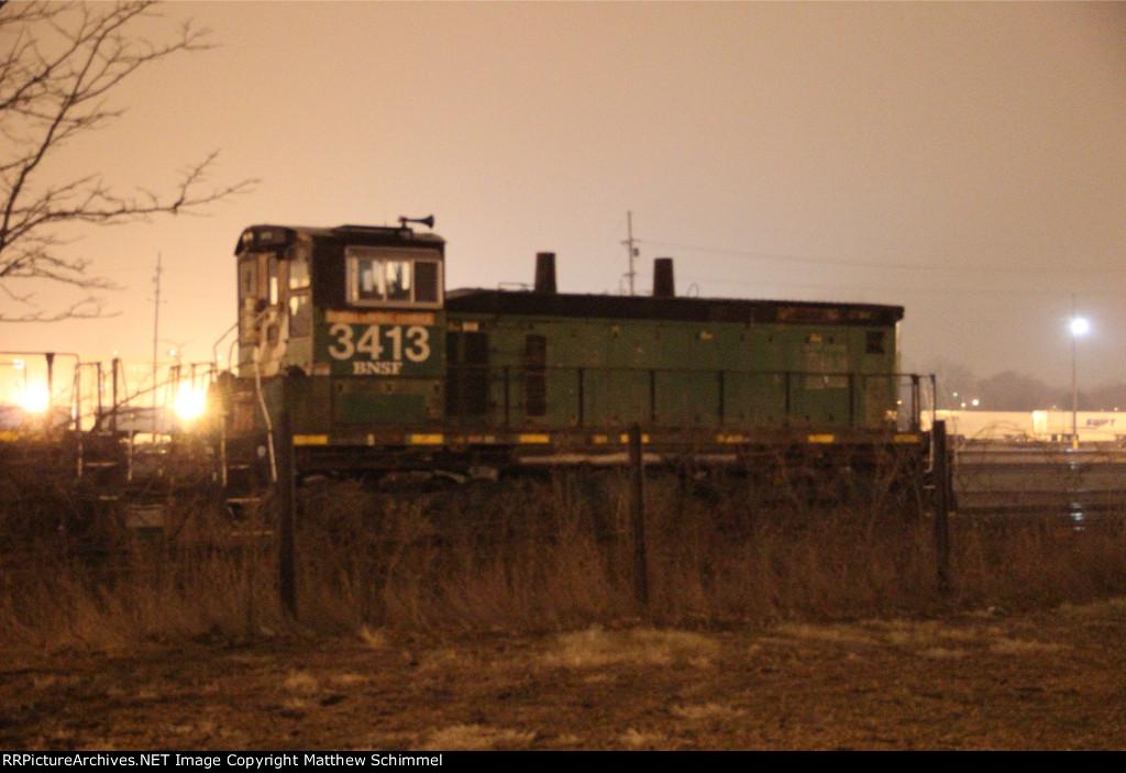 BNSF 3413 - SW1500