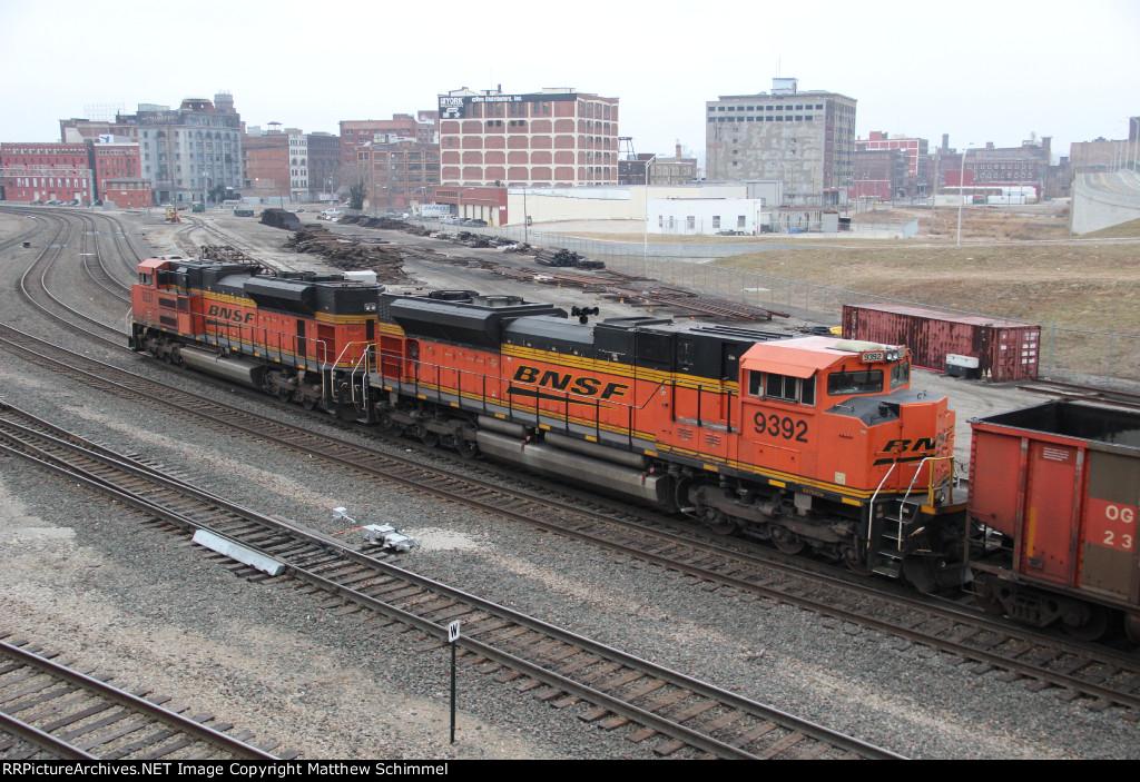 BNSF 9392 - DPU #1